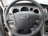 2012 Toyota Tundra Limited CrewMax Steering Wheel