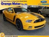 2013 School Bus Yellow Ford Mustang Boss 302 #65612045