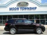 2013 Kodiak Brown Metallic Ford Explorer XLT 4WD #65612032