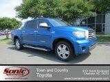 2007 Blue Streak Metallic Toyota Tundra Limited CrewMax 4x4 #65612252