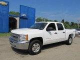 2012 Summit White Chevrolet Silverado 1500 LT Crew Cab 4x4 #65680837