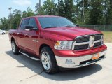 2010 Inferno Red Crystal Pearl Dodge Ram 1500 Lone Star Crew Cab #65681578