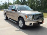 2012 Pale Adobe Metallic Ford F150 XLT SuperCrew #65681573