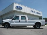 2002 Oxford White Ford F250 Super Duty XL Crew Cab #65680798