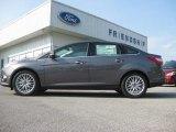 2012 Sterling Grey Metallic Ford Focus SEL Sedan #65680778