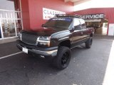 2003 Black Chevrolet Silverado 1500 LT Extended Cab 4x4 #65681146