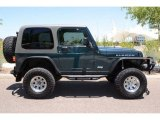 2005 Jeep Wrangler Deep Beryl Green Pearl