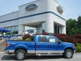 2012 Blue Flame Metallic Ford F150 XLT SuperCrew 4x4 #65680691