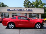 2007 Torch Red Ford Mustang GT Coupe #65681088