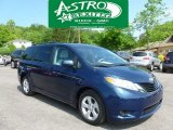 2011 South Pacific Blue Pearl Toyota Sienna LE #65681440