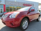 2012 Cayenne Red Nissan Rogue SV #65681057