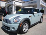 2011 Ice Blue Mini Cooper Hardtop #65680625
