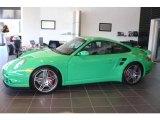 2009 Porsche 911 Green Paint to Sample