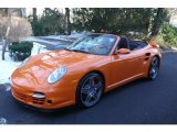 2009 Porsche 911 Orange Paint to Sample