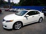 2010 Premium White Pearl Acura TSX V6 Sedan #65681361