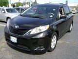 2011 Black Toyota Sienna LE #65680578