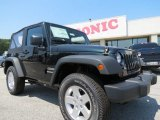 2012 Black Forest Green Pearl Jeep Wrangler Sport S 4x4 #65680976