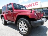 2012 Deep Cherry Red Crystal Pearl Jeep Wrangler Sahara 4x4 #65680974