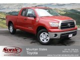 2012 Barcelona Red Metallic Toyota Tundra Double Cab 4x4 #65680528