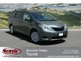 2012 Cypress Green Pearl Toyota Sienna LE AWD #65680512
