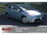 2012 Sea Glass Pearl Toyota Prius 3rd Gen Two Hybrid #65680497