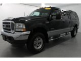 2003 Black Ford F250 Super Duty Lariat Crew Cab 4x4 #65680477