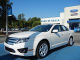 2011 White Suede Ford Fusion SE V6 #65680872
