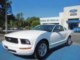 2005 Performance White Ford Mustang V6 Deluxe Coupe #65680871