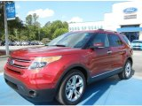2013 Ruby Red Metallic Ford Explorer Limited #65680869