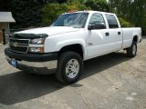 2005 Chevrolet Silverado 3500 Summit White