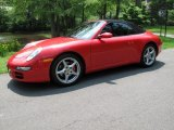 2008 Guards Red Porsche 911 Carrera Cabriolet #65753045