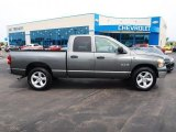 2008 Mineral Gray Metallic Dodge Ram 1500 Big Horn Edition Quad Cab #65753042