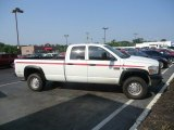 2008 Bright White Dodge Ram 3500 ST Quad Cab 4x4 #65753256