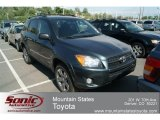 2011 Black Forest Metallic Toyota RAV4 V6 Sport 4WD #65752990