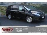 2012 Black Toyota Sienna XLE AWD #65752972