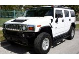 2003 Hummer H2 White