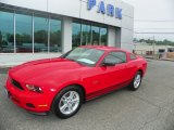 2011 Race Red Ford Mustang V6 Coupe #65753085