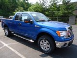 2012 Blue Flame Metallic Ford F150 XLT SuperCab 4x4 #65753075