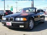 1997 Jet Black BMW 3 Series 328i Convertible #6568646