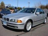 2000 Titanium Silver Metallic BMW 5 Series 528i Sedan #6562379