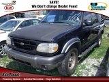 Black Ford Explorer in 2000