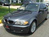 2003 Steel Grey Metallic BMW 3 Series 330i Sedan #6557621