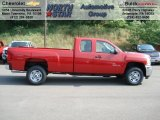 2012 Chevrolet Silverado 2500HD LS Extended Cab Data, Info and Specs