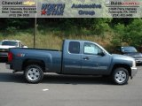 2012 Blue Granite Metallic Chevrolet Silverado 1500 LT Extended Cab 4x4 #65780492