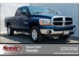 2006 Patriot Blue Pearl Dodge Ram 1500 SLT Quad Cab 4x4 #65780482