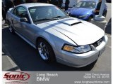 2000 Silver Metallic Ford Mustang GT Coupe #65780559