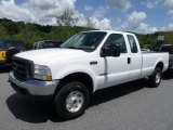 2003 Ford F250 Super Duty XL SuperCab 4x4 Front 3/4 View