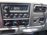 2003 Ford F250 Super Duty XL SuperCab 4x4 Audio System