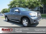 2007 Slate Metallic Toyota Tundra Limited Double Cab 4x4 #65780638