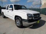 2003 Summit White Chevrolet Silverado 1500 Extended Cab #65780527